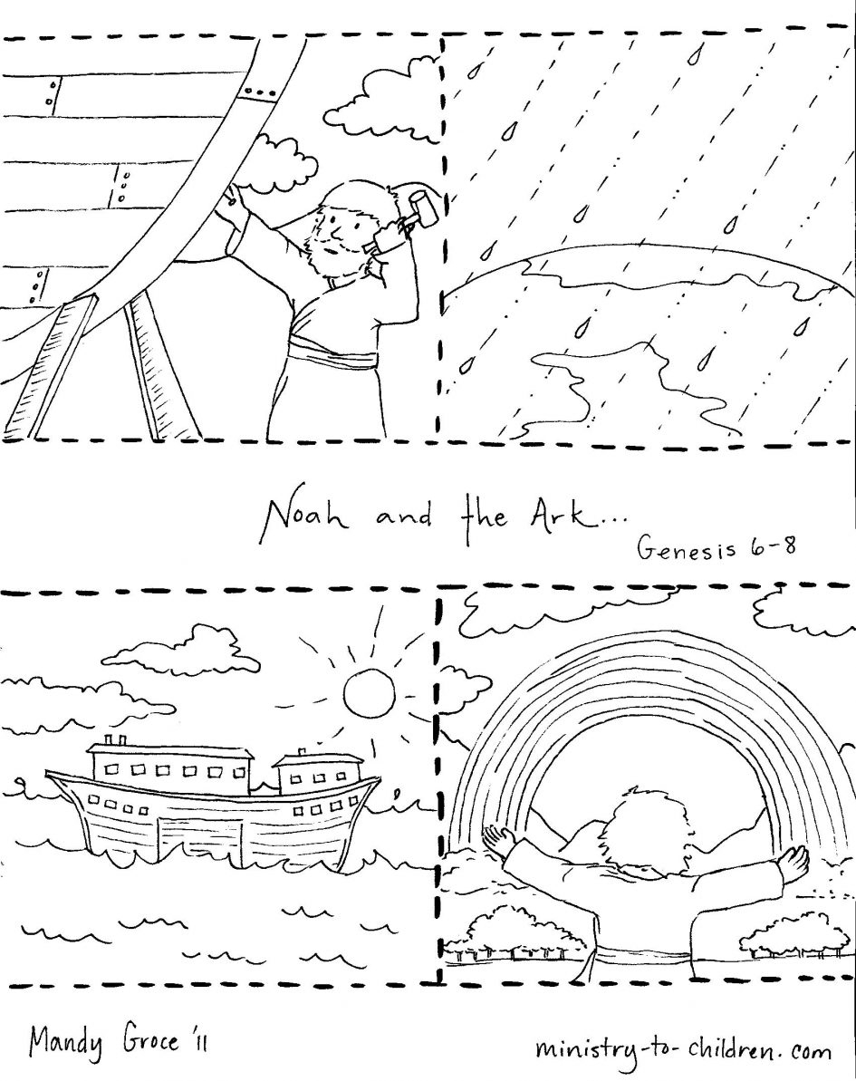 noah and the ark coloring pages - noah coloring page