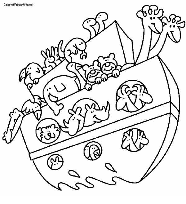 noah coloring page - animal coloring pages noahs ark sketch templates