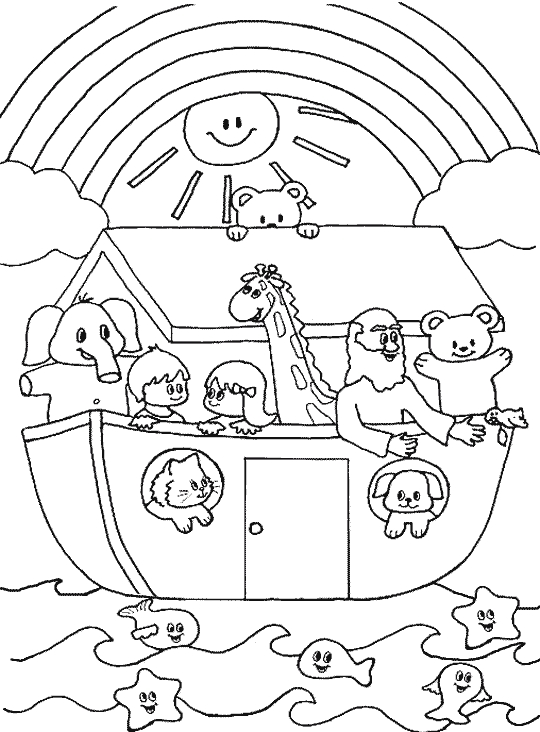 24 Noah Coloring Page Printable | FREE COLORING PAGES