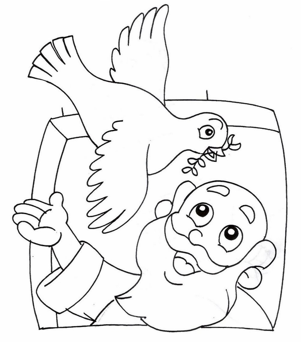 noah coloring page - r=the story of noah