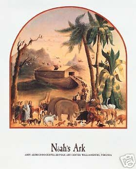 noah's ark coloring page -