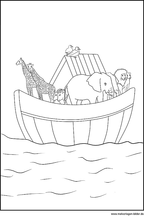 noah's ark printable coloring pages - post morning routine worksheets