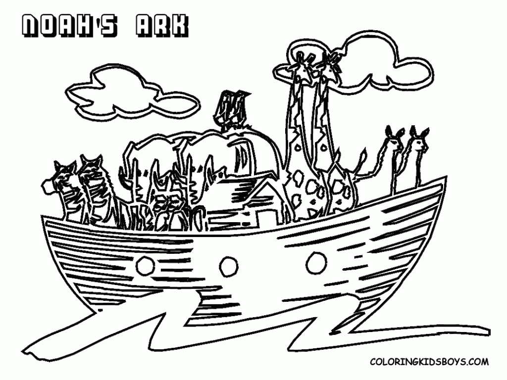 noah's ark printable coloring pages - bible coloring sheets bibles free bible coloring pages