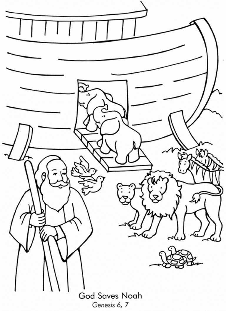noah's ark printable coloring pages - free desktop coloring noah ark coloring page for noahs ark coloring page