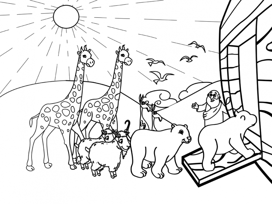 25 Noahs Ark Coloring Page Printable | FREE COLORING PAGES - Part 2