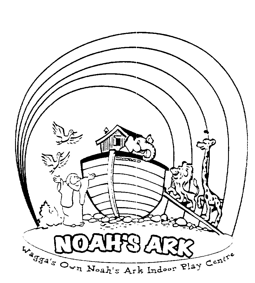 noahs ark coloring page - noahs ark rainbow coloring page sketch templates