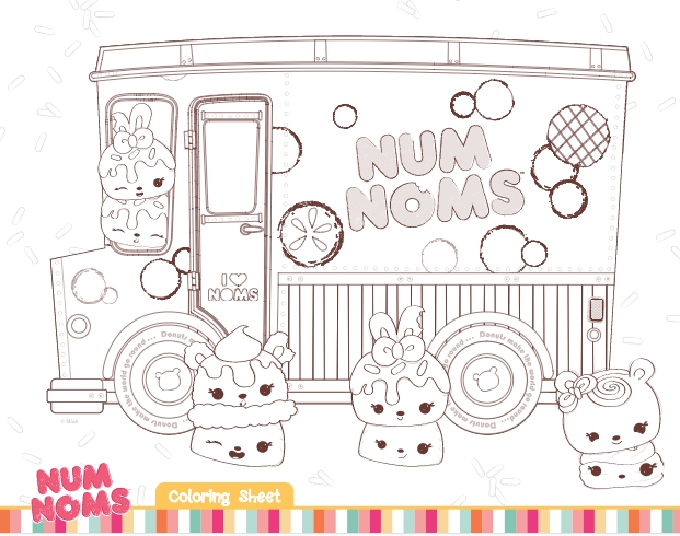 num nom coloring pages - num noms coloring pages and activities