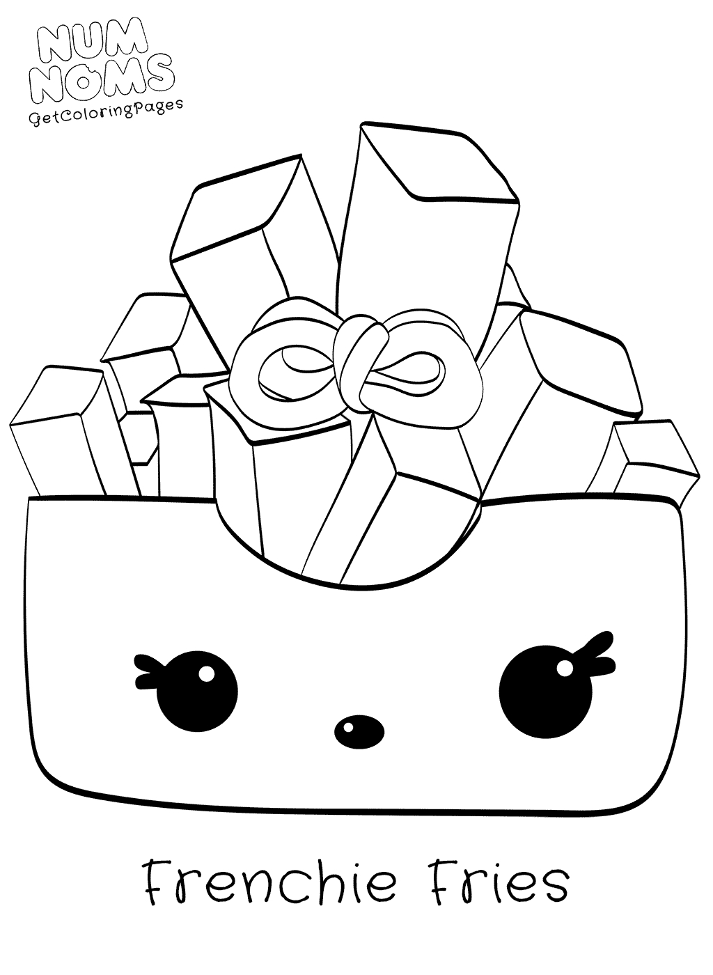 24 Num Noms Coloring Pages Selection Page 3 of 3 FREE COLORING PAGES