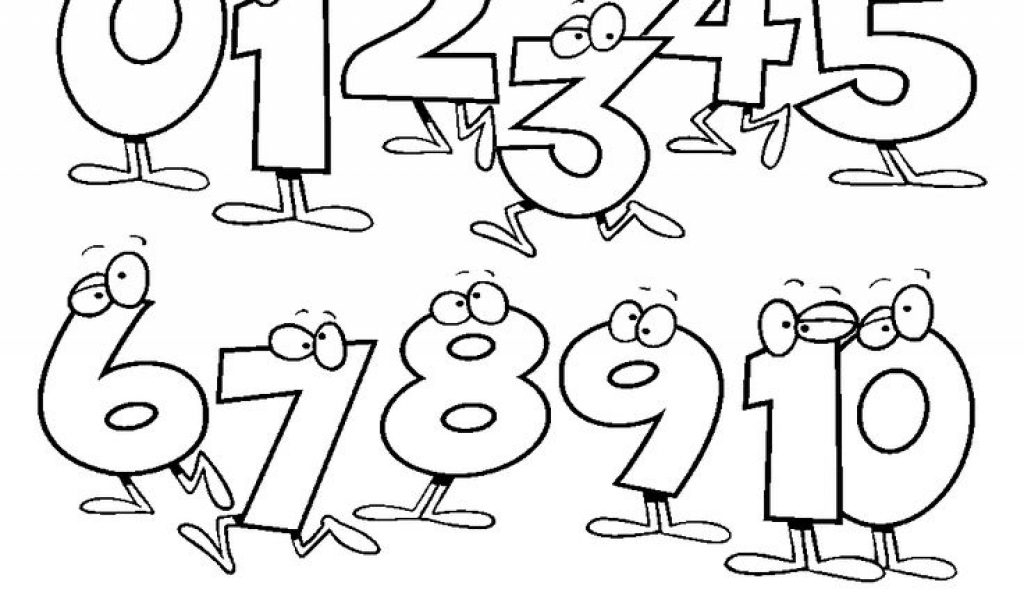 number 4 coloring page - lock screen coloring coloring pages numbers 1 10 new at nice numbers coloring pages and 10