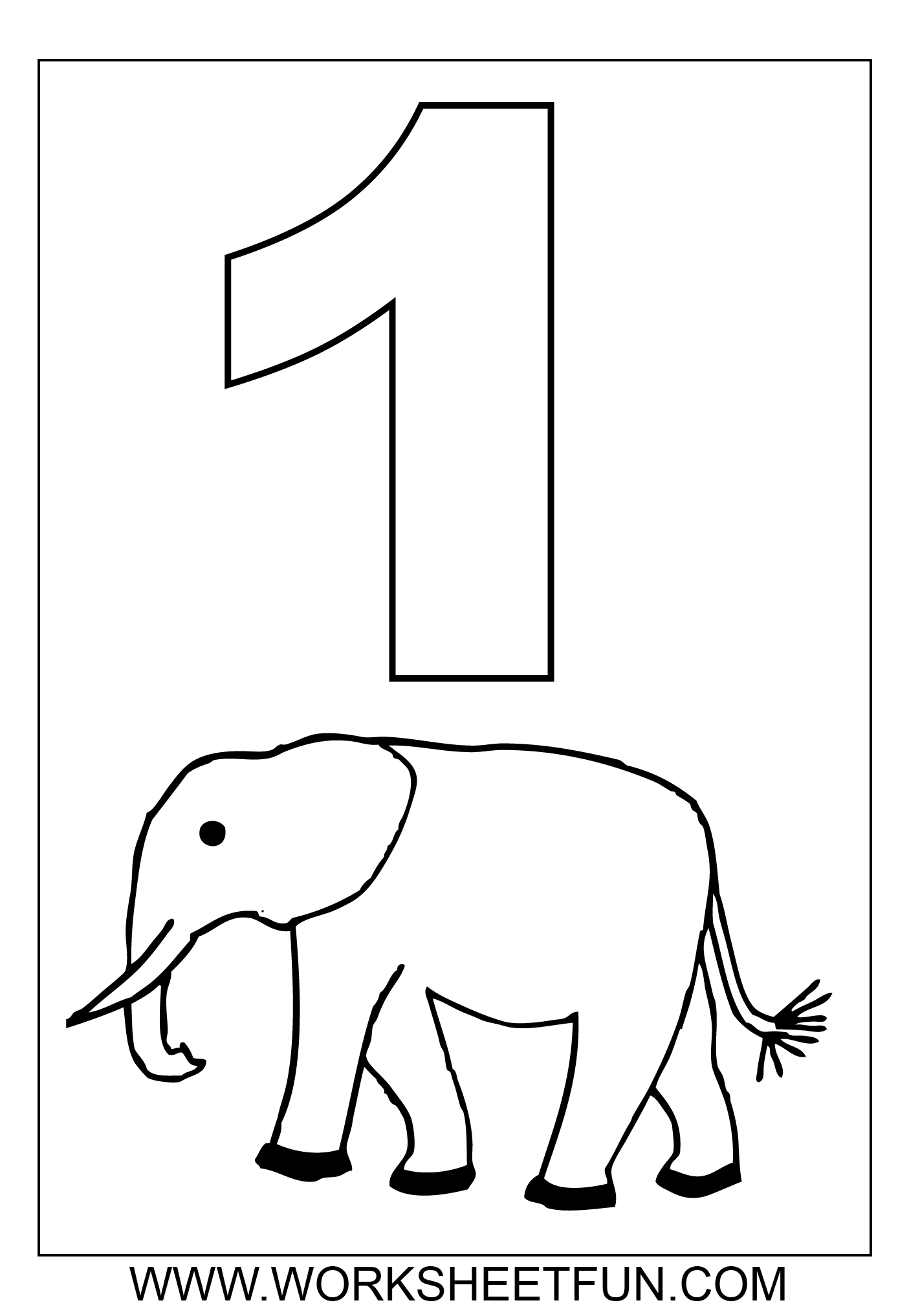 21 Number Coloring Pages 1 10 Compilation Free Coloring Pages Part 2