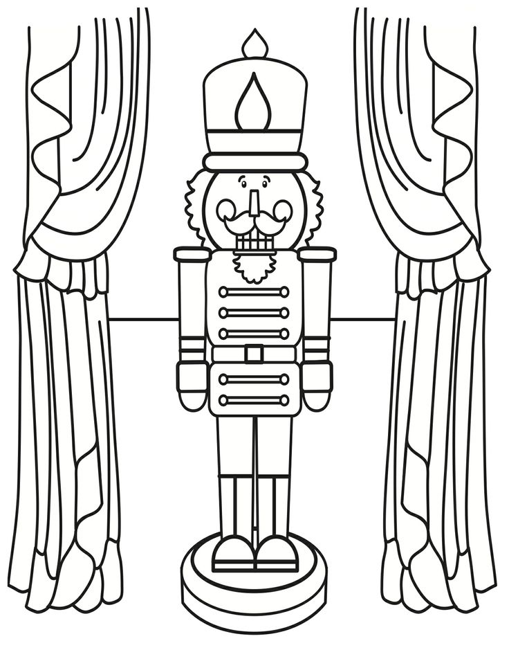 21 Nutcracker Coloring Pages Selection