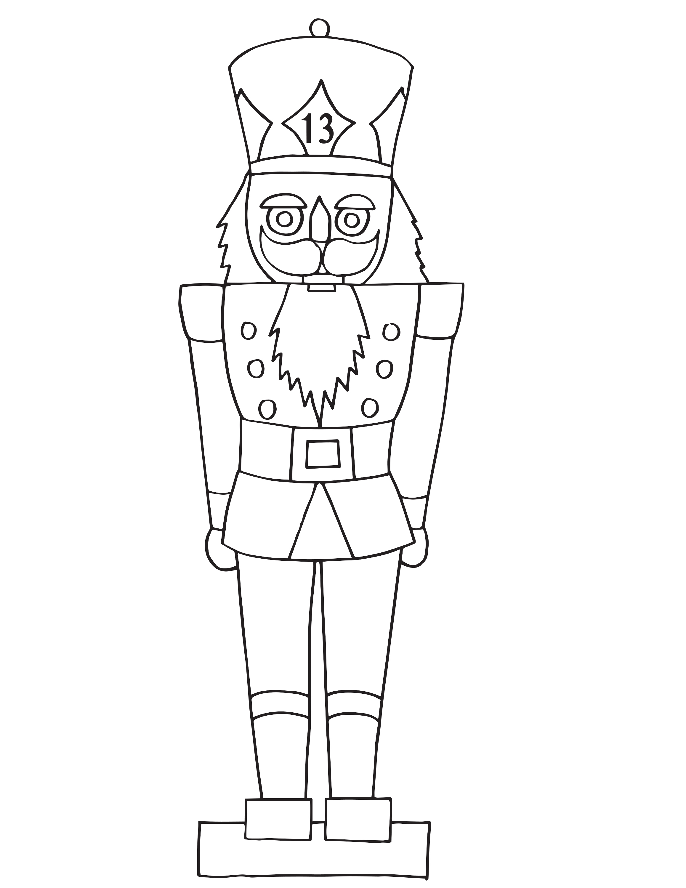 Contemporary Nutcracker Mouse King Coloring Pages Frieze ...