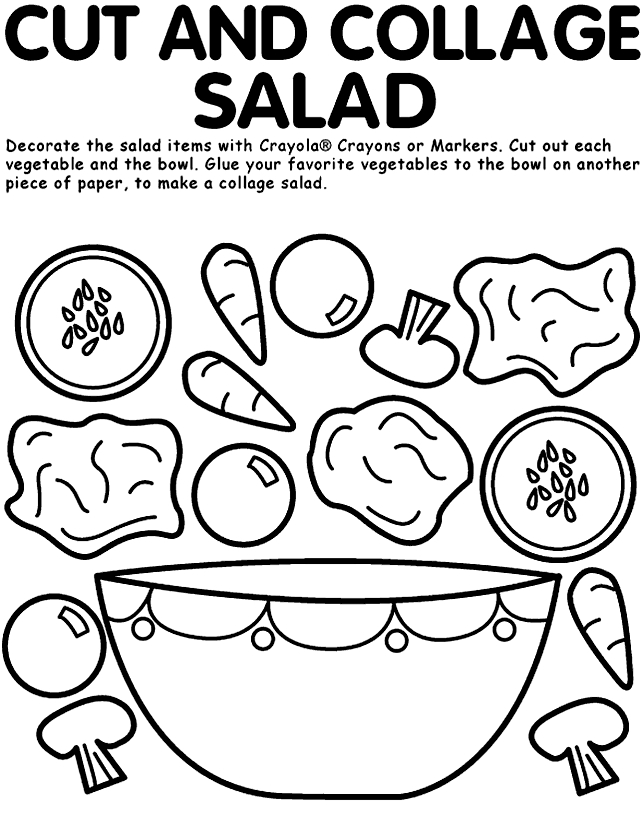 nutrition coloring pages - preschool nutrition coloring pages