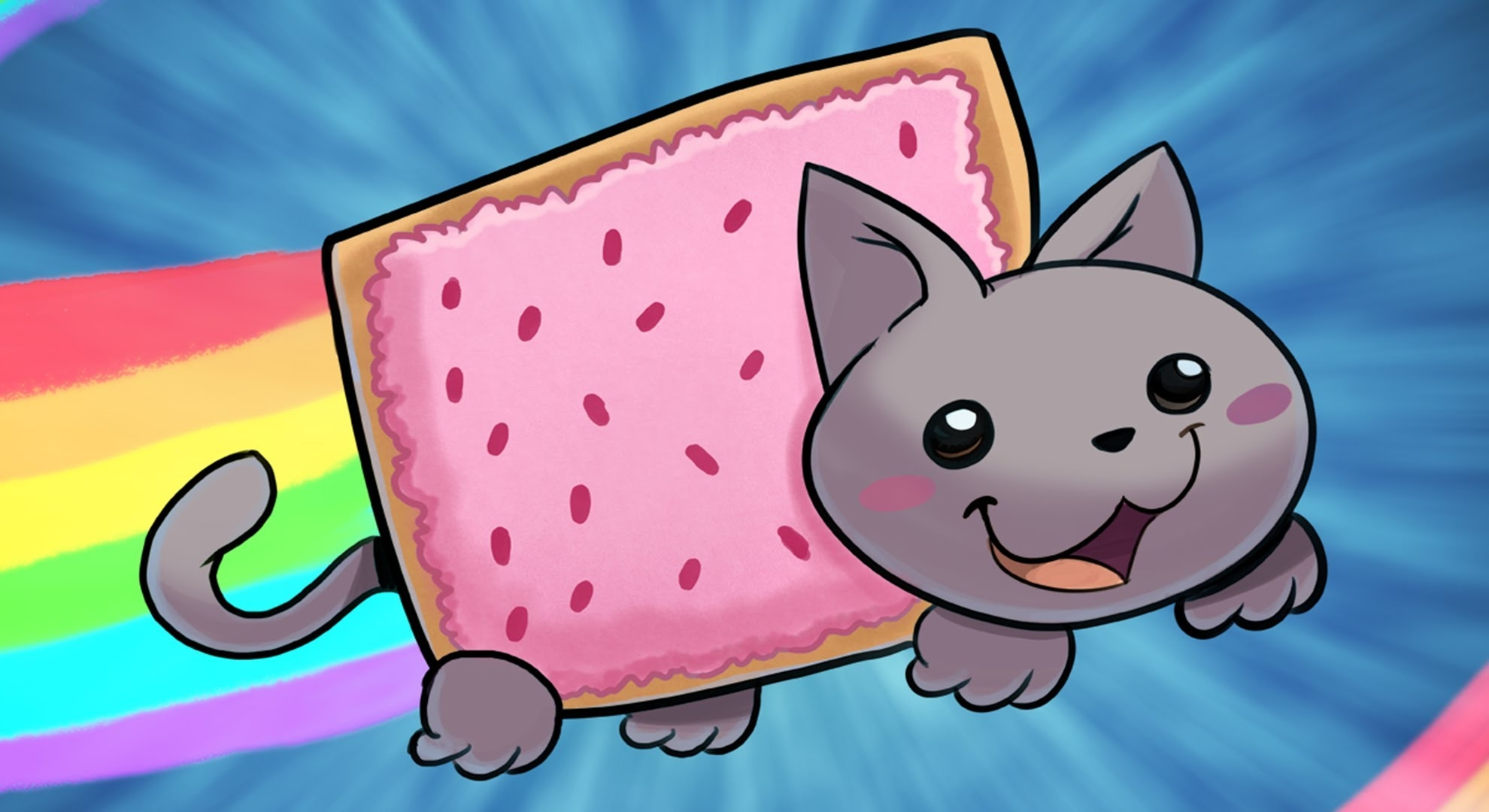 nyan cat coloring pages - watch v=eeR6PM5hCiM