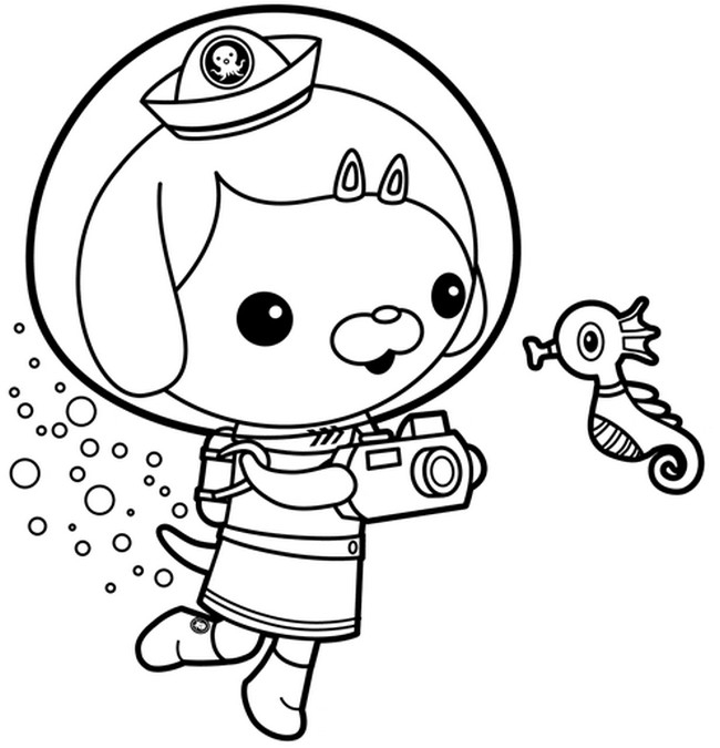 octonauts coloring pages - q=shark octonauts