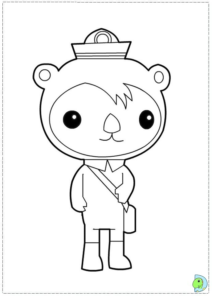 octonauts coloring pages - 041 coloring octonauts 08