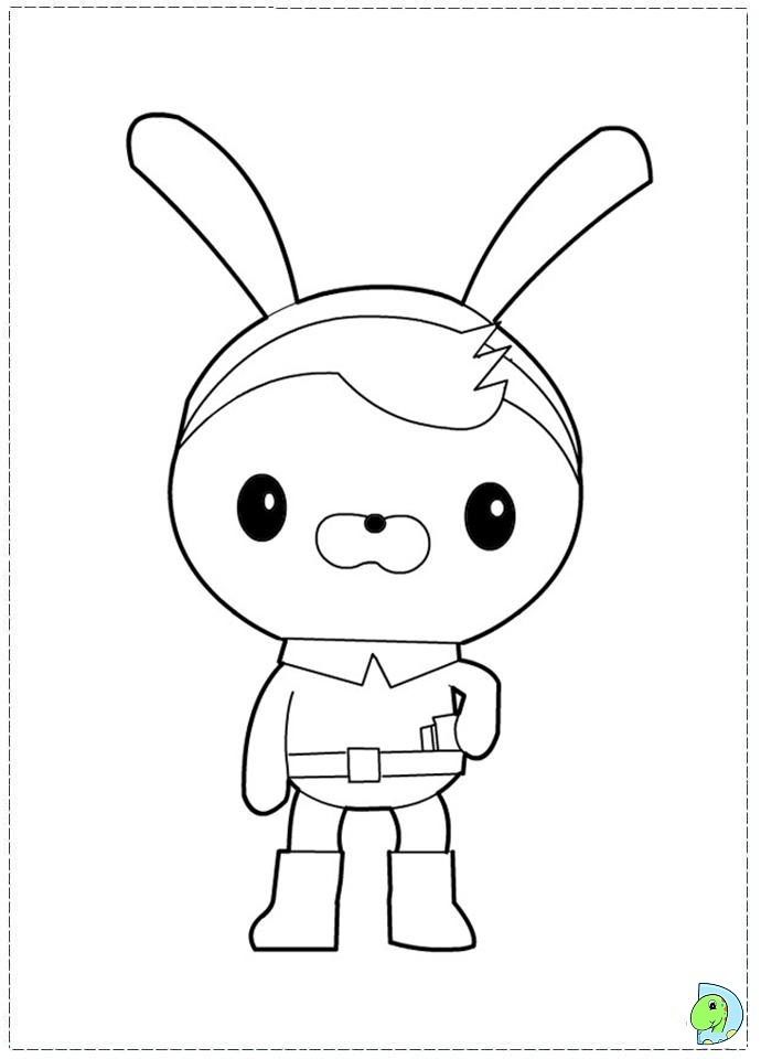 octonauts coloring pages - 041 coloring octonauts 06