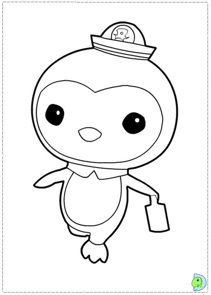 octonauts coloring pages - 041 coloring octonauts 16