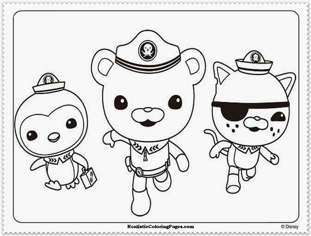 octonauts coloring pages - octonauts coloring pages
