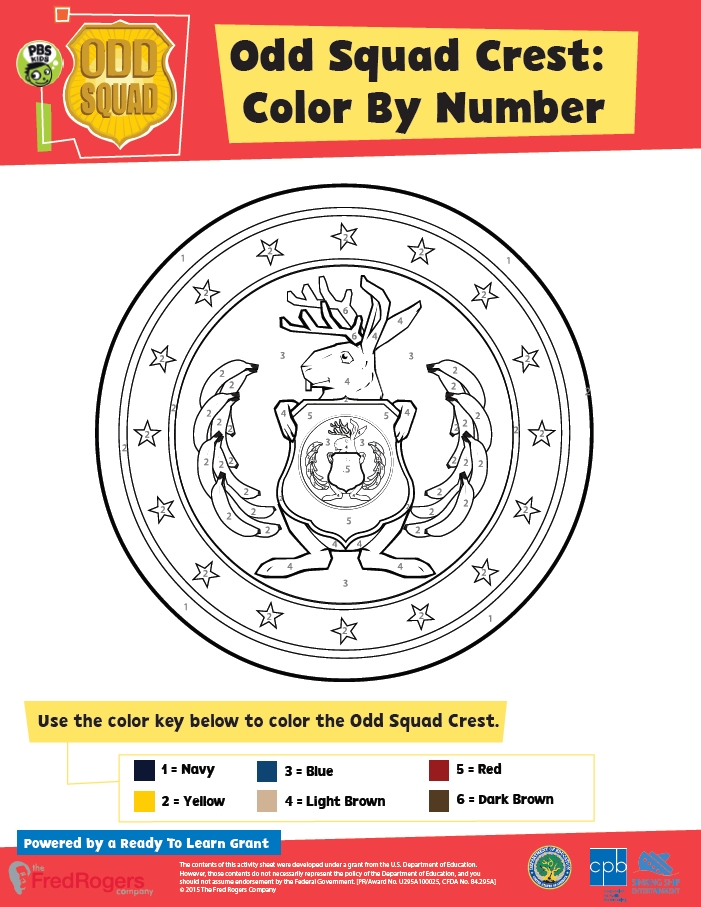odd squad coloring pages - printables