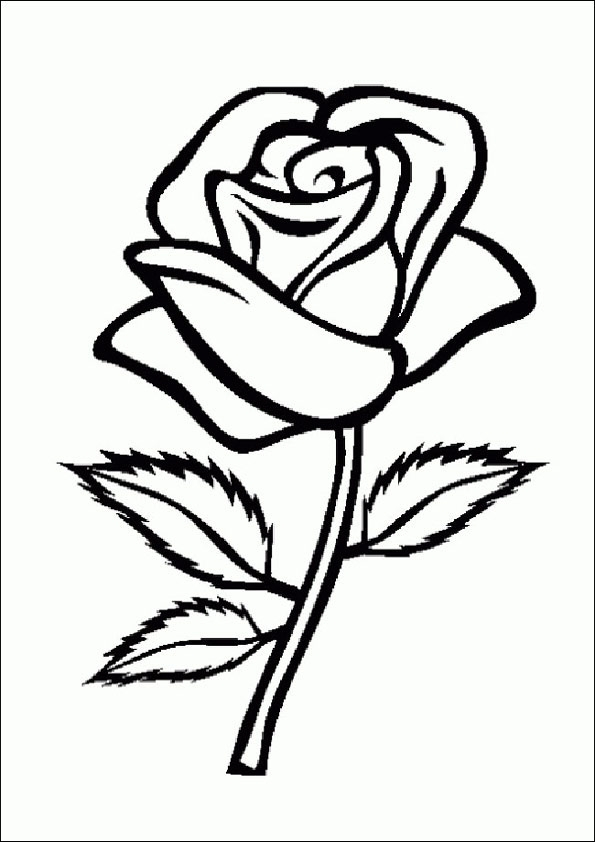 olaf coloring pages - blumen 02