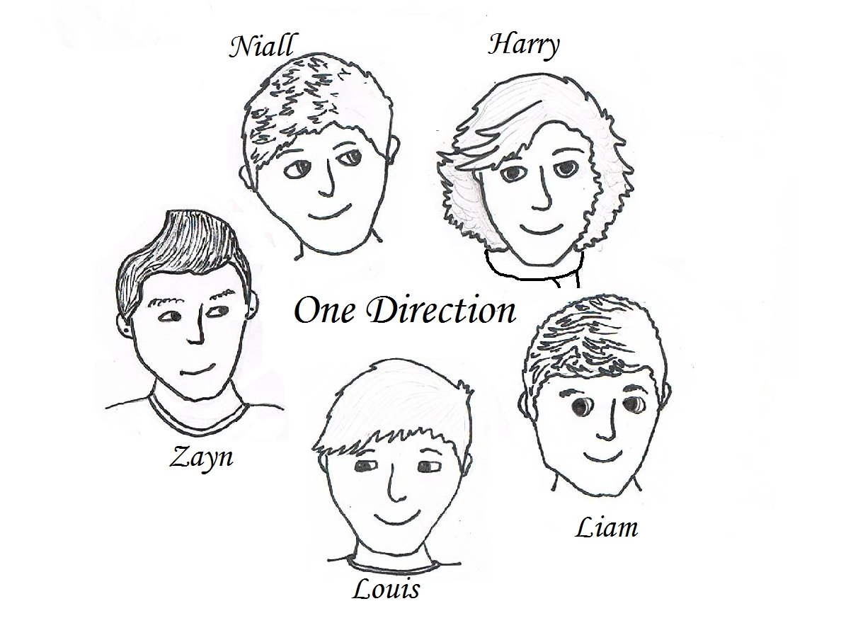 one direction coloring pages - one direction coloring pages