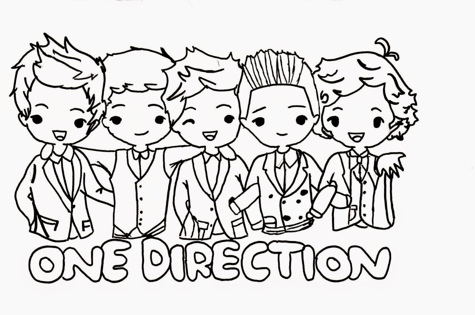 one direction coloring pages - q=one