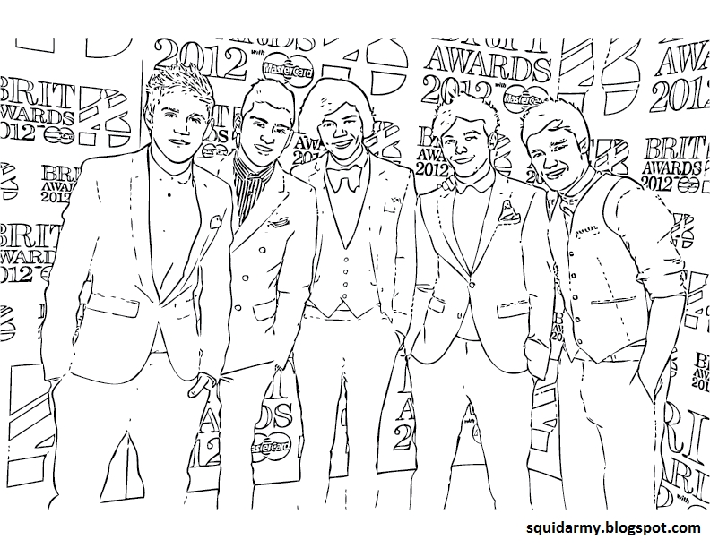 one direction coloring pages - r=zayn one direction