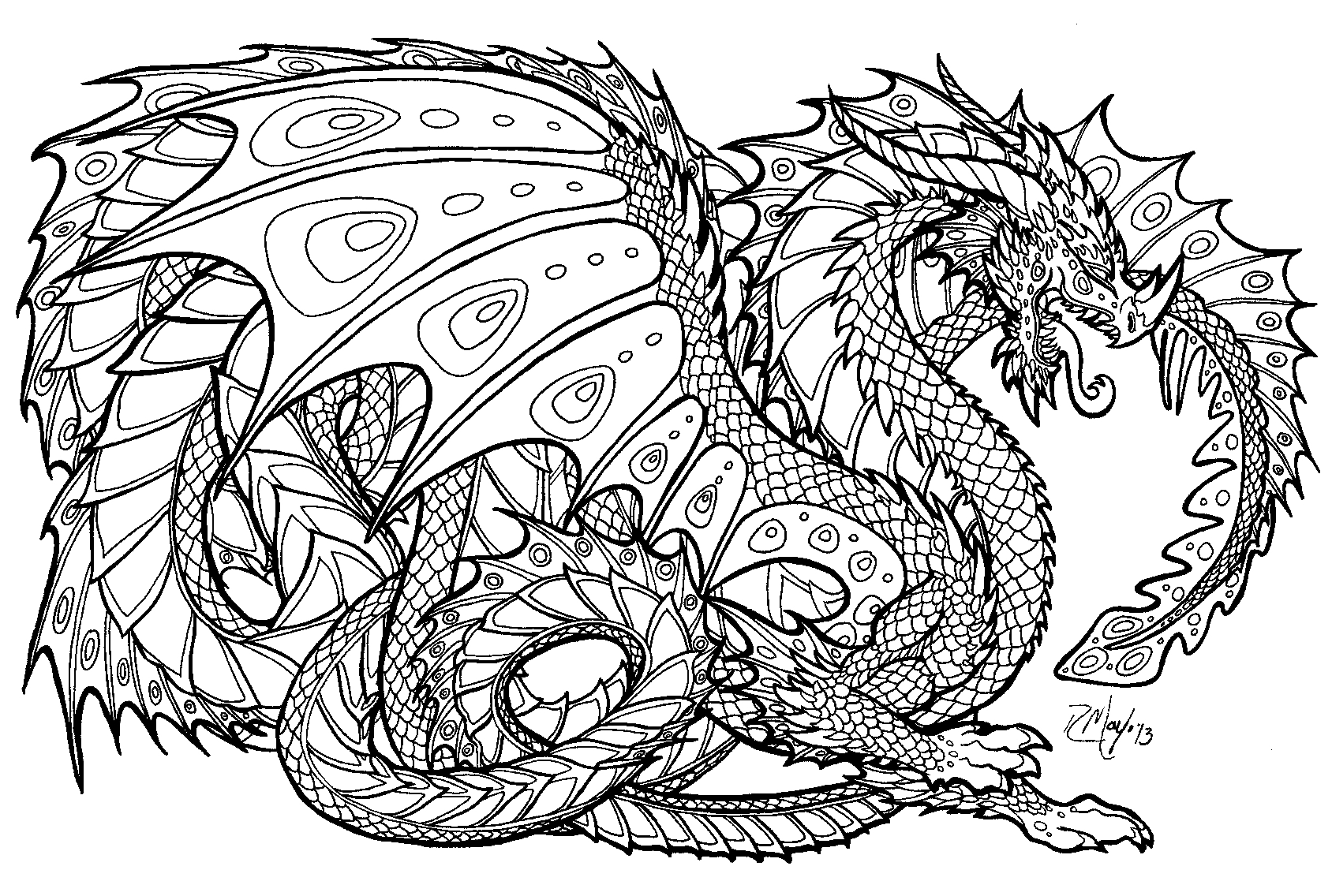 online coloring pages for adults - free coloring media 5539