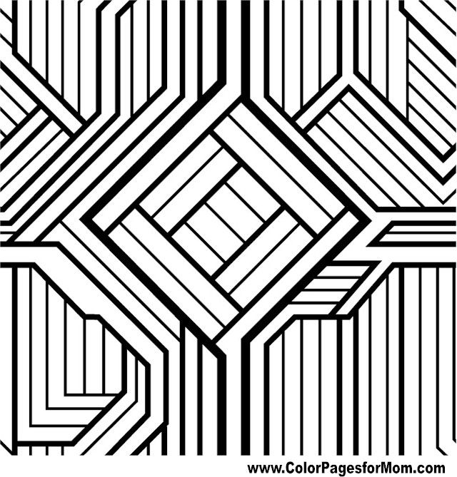 optical illusion coloring pages - optical illusion coloring pages free printable