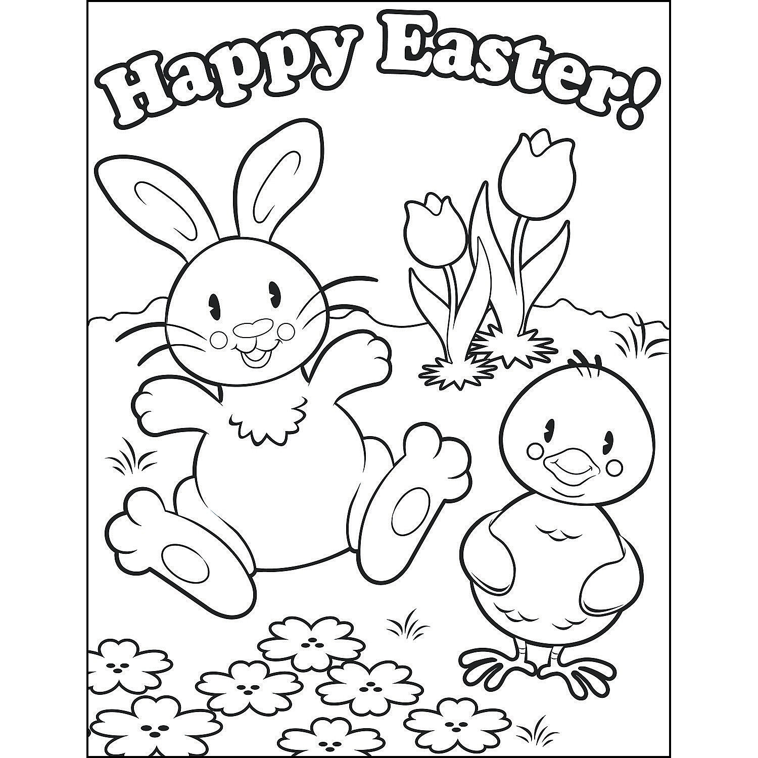 oriental trading coloring pages - easter coloring contest sheets a2 37 1039 fltr