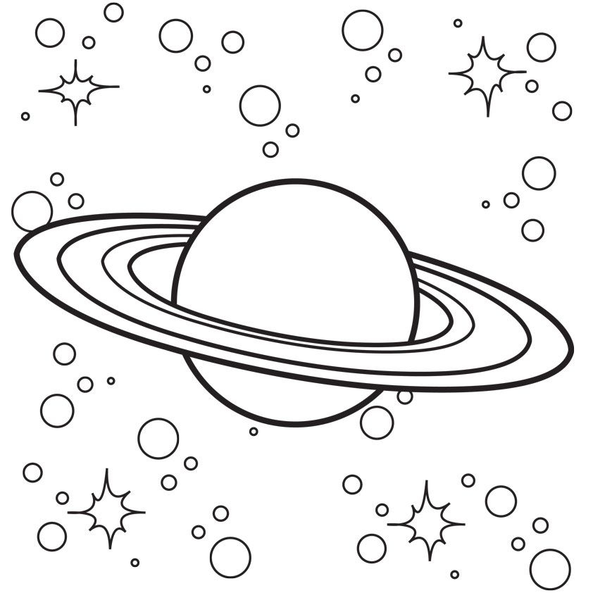 Outer Space Coloring Pages - Outer Space Coloring Pages for Kids Coloring Home