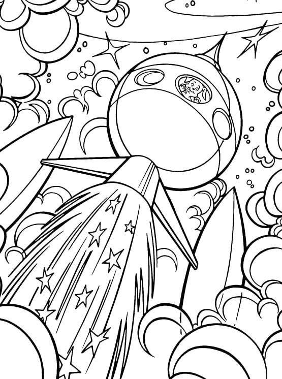 outer space coloring pages - space color pages