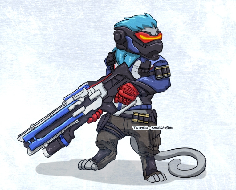 overwatch coloring pages - Derpkitty x Sol r 76
