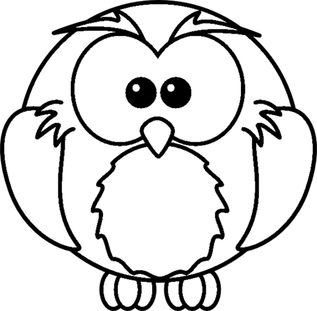 owl coloring pages - color pages