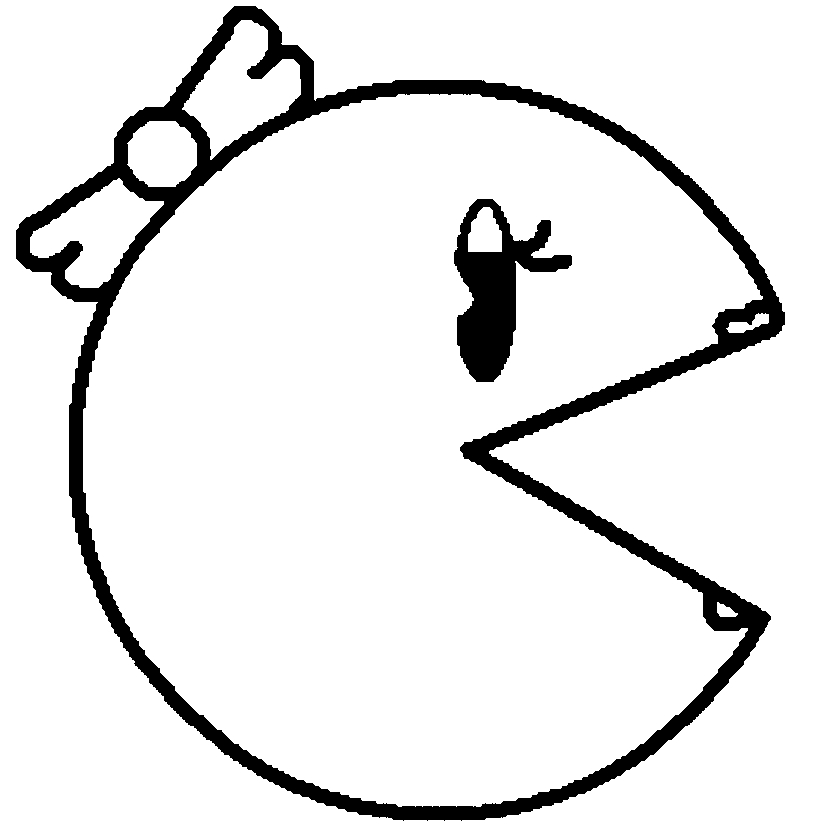 pacman coloring pages - pacman coloring pages to print