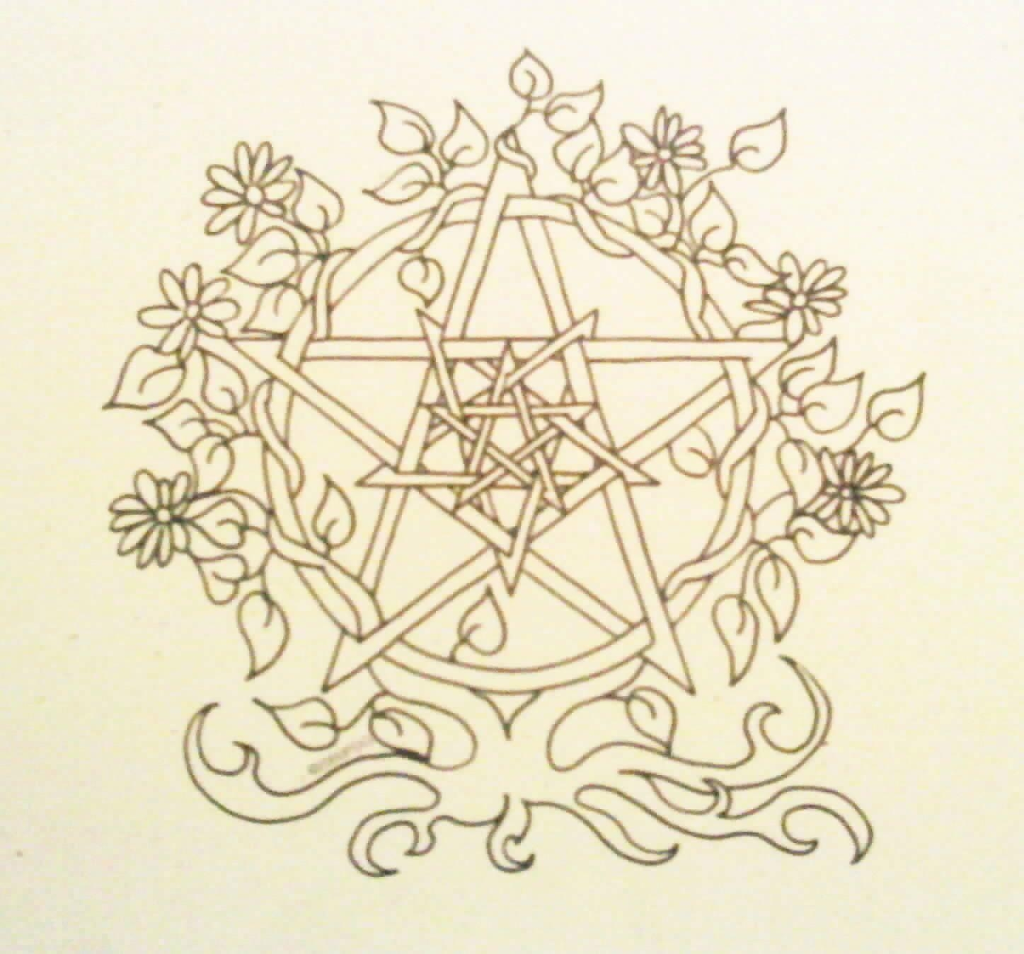 Pagan Coloring Pages - A Wiccan Colouring Book who Knew the Newburgh
