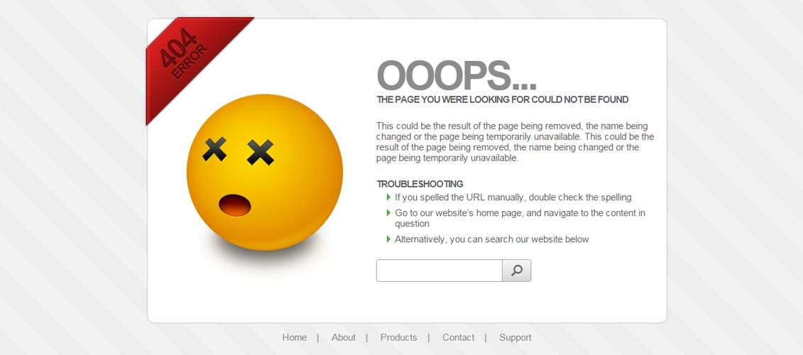 pages background color - free 404 page templates psd