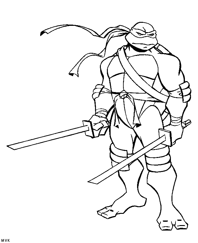 Paint Coloring Pages - Coloring Page Teenage Mutant Ninja Turtles Coloring Home