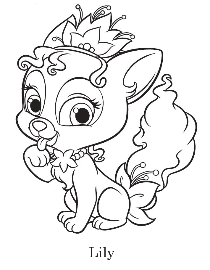 24 Palace Pets Coloring Pages Printable | FREE COLORING PAGES - Part 3