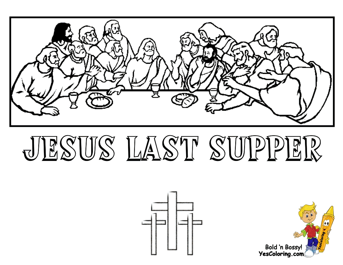 palm sunday coloring page - lenteaster