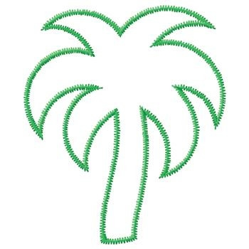 palm tree coloring pages - outline pictures of trees