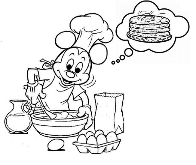 pancake coloring pages - &image=coloriages crepes g 2