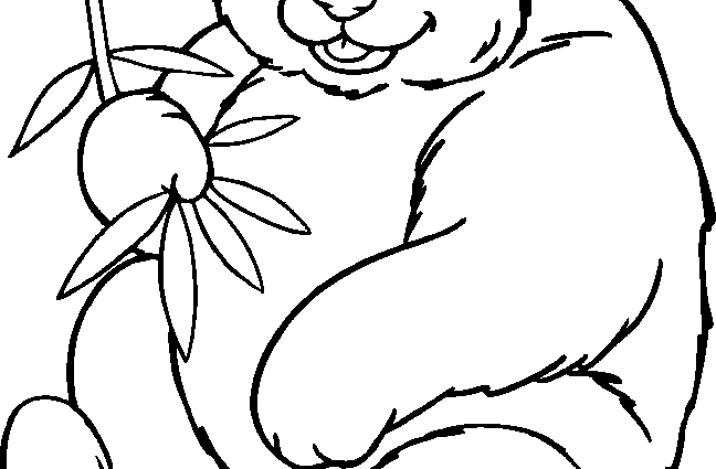 panda bear coloring pages - baby panda face coloring pages sketch templates