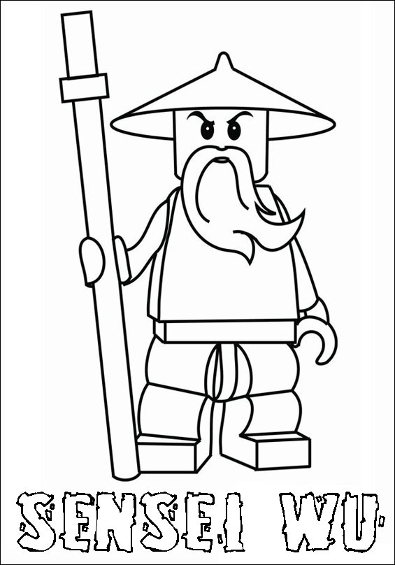 paper mario coloring pages - ninjago 06