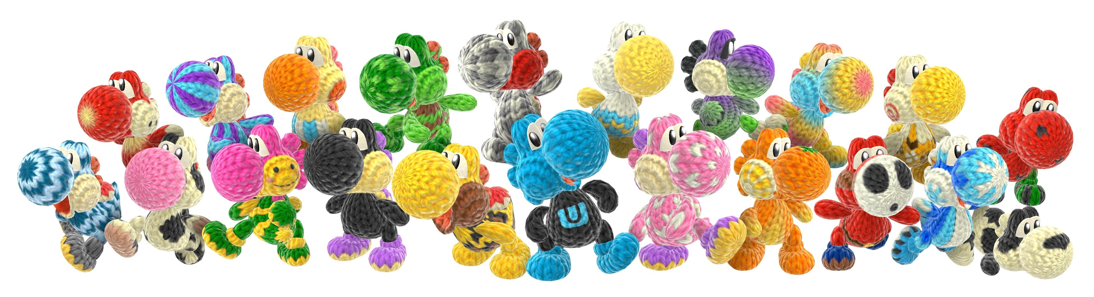 paper mario coloring pages - tons of new yoshis woolly world art released