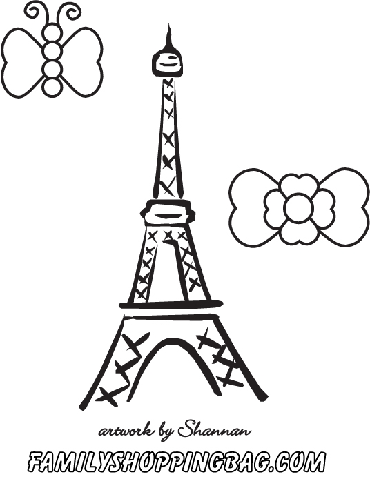 paris coloring pages - q=paris