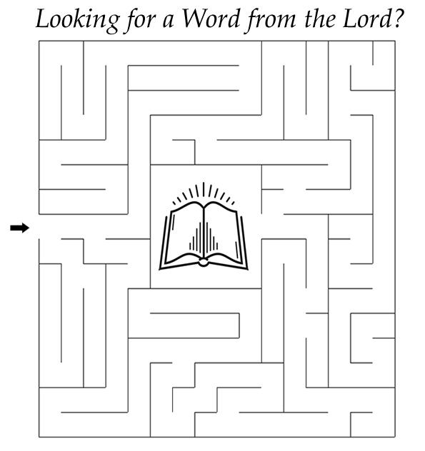 passover coloring pages - word to the wise maze