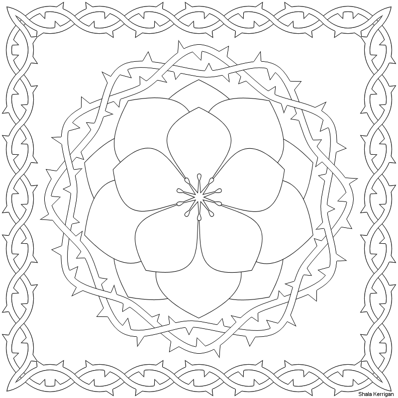 pattern coloring pages - coloring pages patterns