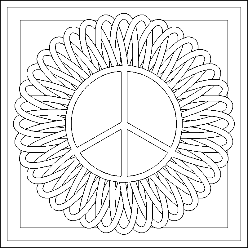 pattern coloring pages - q=flower patterns